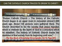 Catholic Church founded by Jesus Christ