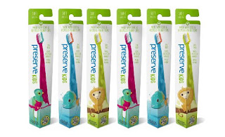 preserve kids toothbrushes