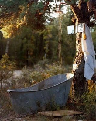 ห้องอาบน้ำกลางแจ้ง