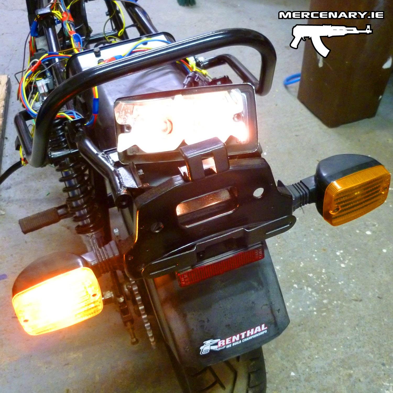 Mercenary Garage Gpz 1100 Custom Wiring Part 4 The End Auto