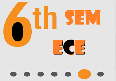 VTU Electronics and Communication Engineering 6th Sem CBCS Scheme PDF Notes