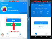 transfer file using shareit