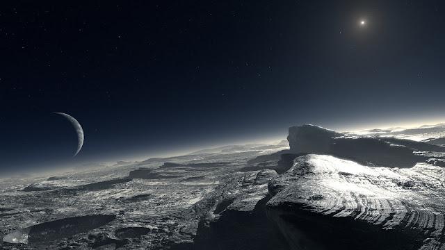 Pluto Undergroud Aliens