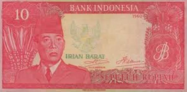 Sejarah Uang Rupiah Khusus Daerah Irian Barat dan Kepulauan Riau