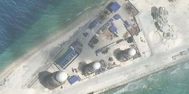 Tiongkok Bangun Markas Militer Baru di Laut China Selatan
