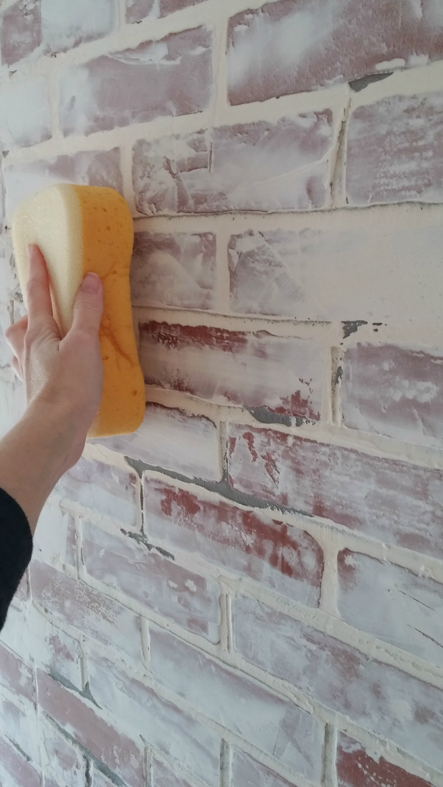 tiling sponge for German schmear