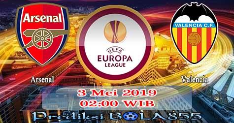 Prediksi Bola855 Arsenal vs Valencia 3 Mei 2019