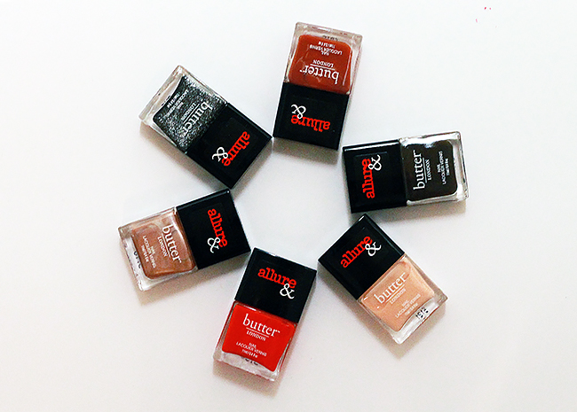 Butter London x Allure Nail Lacquer Collection