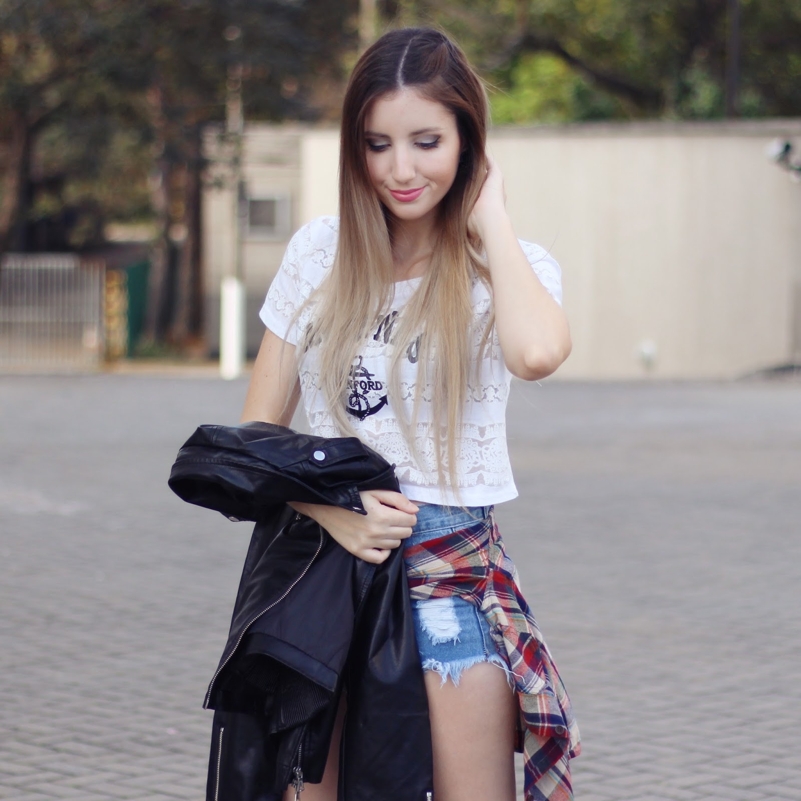look do dia casual com tênis