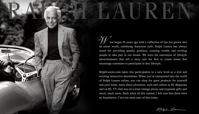 Biografi Ralph Lauren, Perancang dan Ikon Busana Amerika Serikat