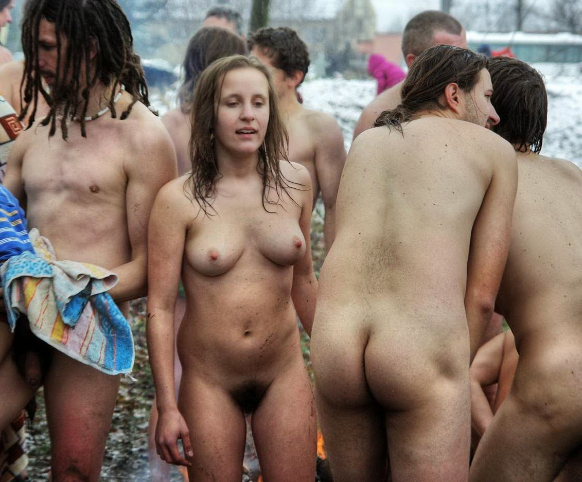 Naked In Public Photos