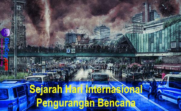 sejarah hari internasional pengurangan bencana dunia nasional indonesia sedunia