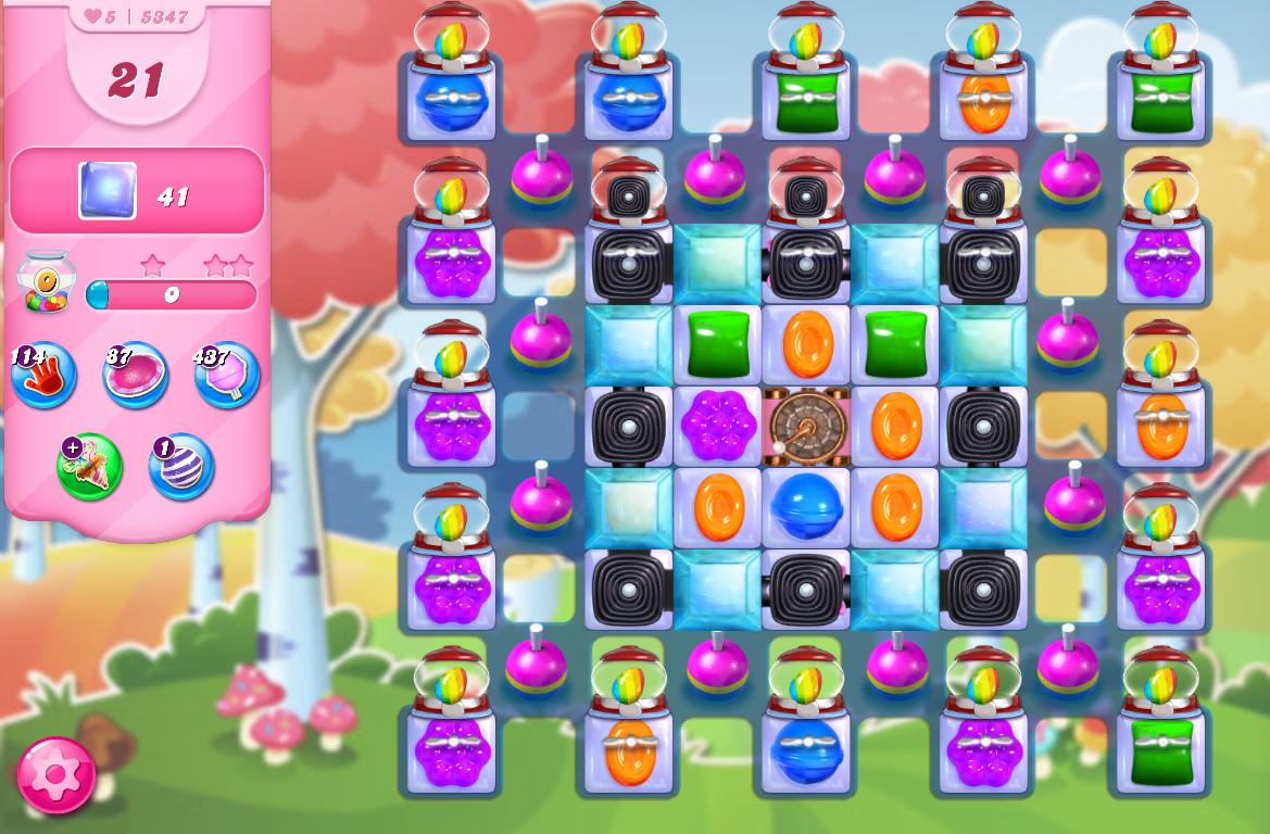 Candy Crush Saga level 5347