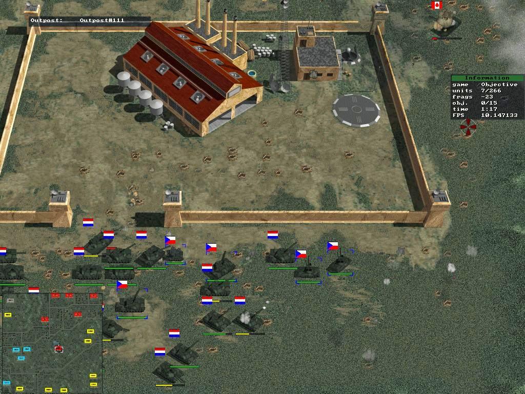 simple world of tanks netpanzer