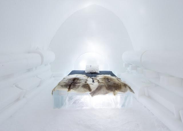 Green Pear Diaries, arquitectura, interiorismo, arte, diseño, Icehotel, Jukkasjärvi, Suecia