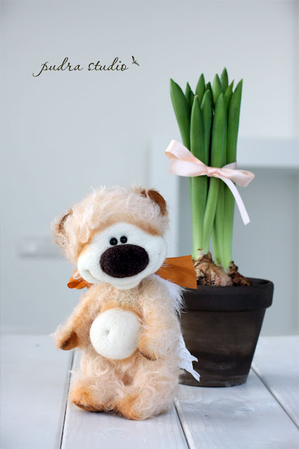 handmade gift, handmade teddy bear