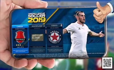 لعبة كرة القدم dream league soccer 2019 الاصدار الـ 6 بمساحة 71 ميجا بايت للاندرويد فقط سارع بالتحميل