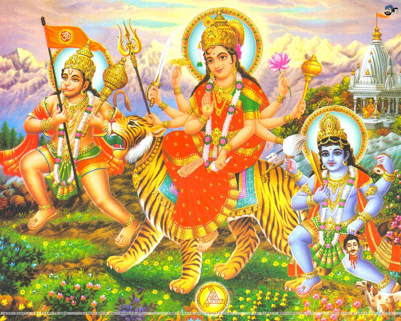 Shiva Animated Wallpaper Hindutirtha Durga Mata