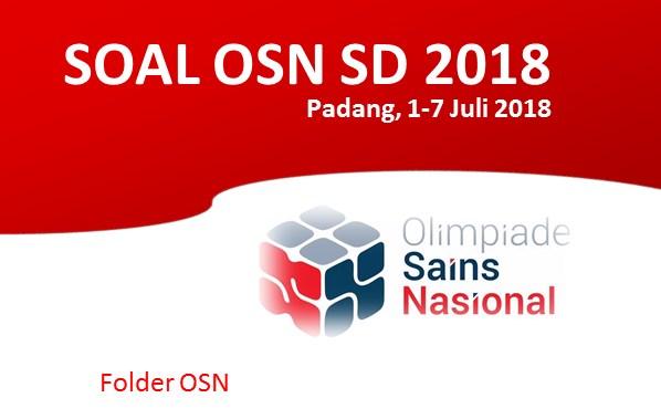 Soal OSN ipa SD 2018