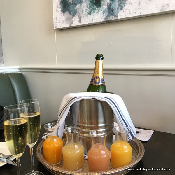 The Mimosa Experience at The Dorian in San Francisco, California