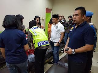 Antisipasi Terjadi Tindak Kejahatan Polres Cirebon Kota Razia Hiburan Malam