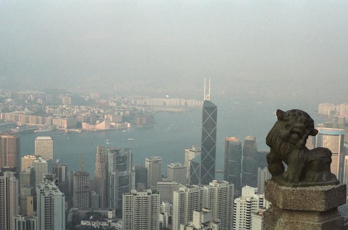 Hong Kong, Victoria Peak, © L. Gigout, 1990