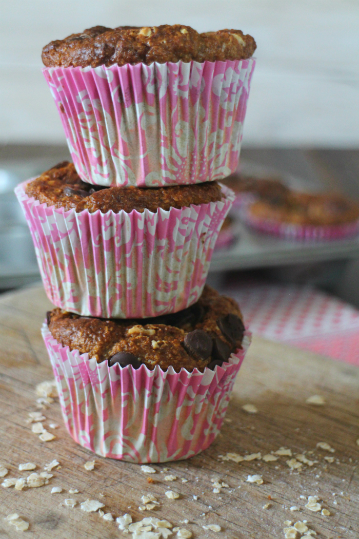 muffins-de-avena-y-platano, oats-and-banana-muffins