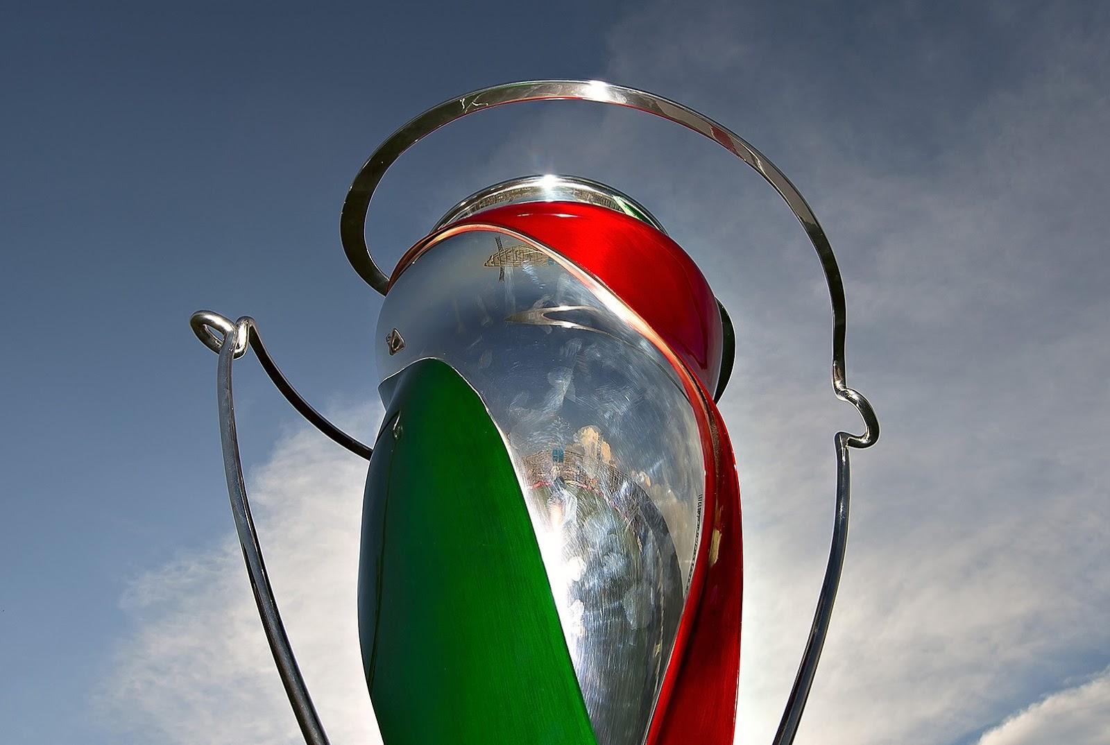El trofe de la Copa MX.