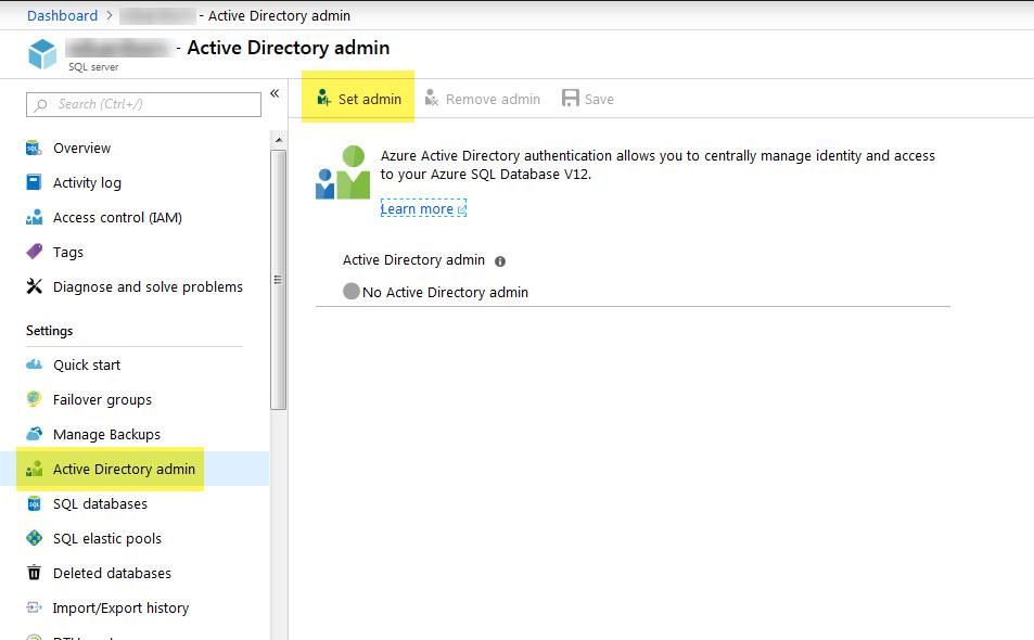 Creating logins and users in Azure Database – SQLServerCentral