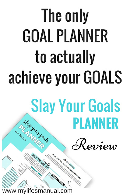 How to set goals and achieve them.
