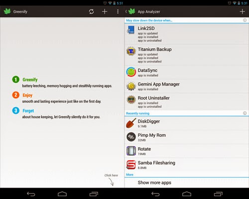 Greenify root android app