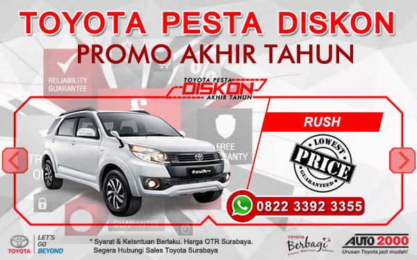 Promo Akhir Tahun Toyota Rush Surabaya