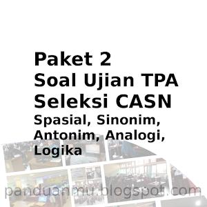 Paket Soal TPA 4 Tes Seleksi Calon Aparatur Sipil negara (CASN)