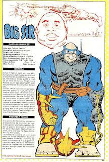 Gran Señor (Big Sir) DC Comics