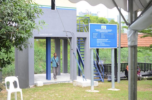 Pusat Informasi and Pengairan dan Saliran