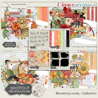 Blooming Lovely - Complete Collection by Seatrout Scraps