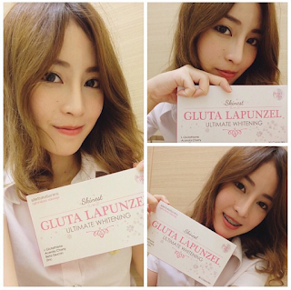 Suplemen Gluta Lapunzel Ultimate Whitening by Skinest Clinic Original