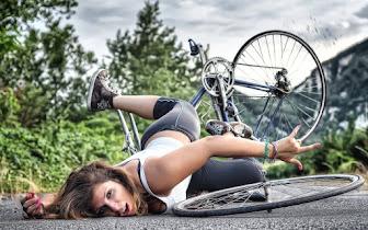 Caerse de la bicicleta
