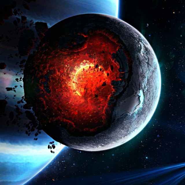 Planet's Core HD Wallpaper Engine