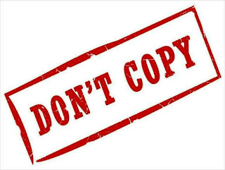 Dont copy any blog post