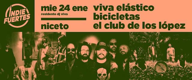 El Club de Los López se presenta en el ciclo #IndiFuertes
