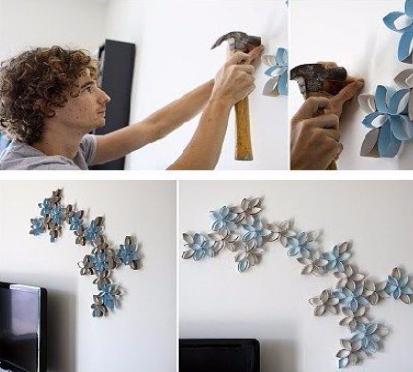 Ideas econ micas para decorar paredes de manera - Paredes economicas ...