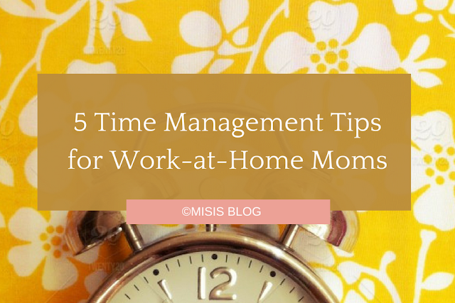 time management tips wahm sahm mom