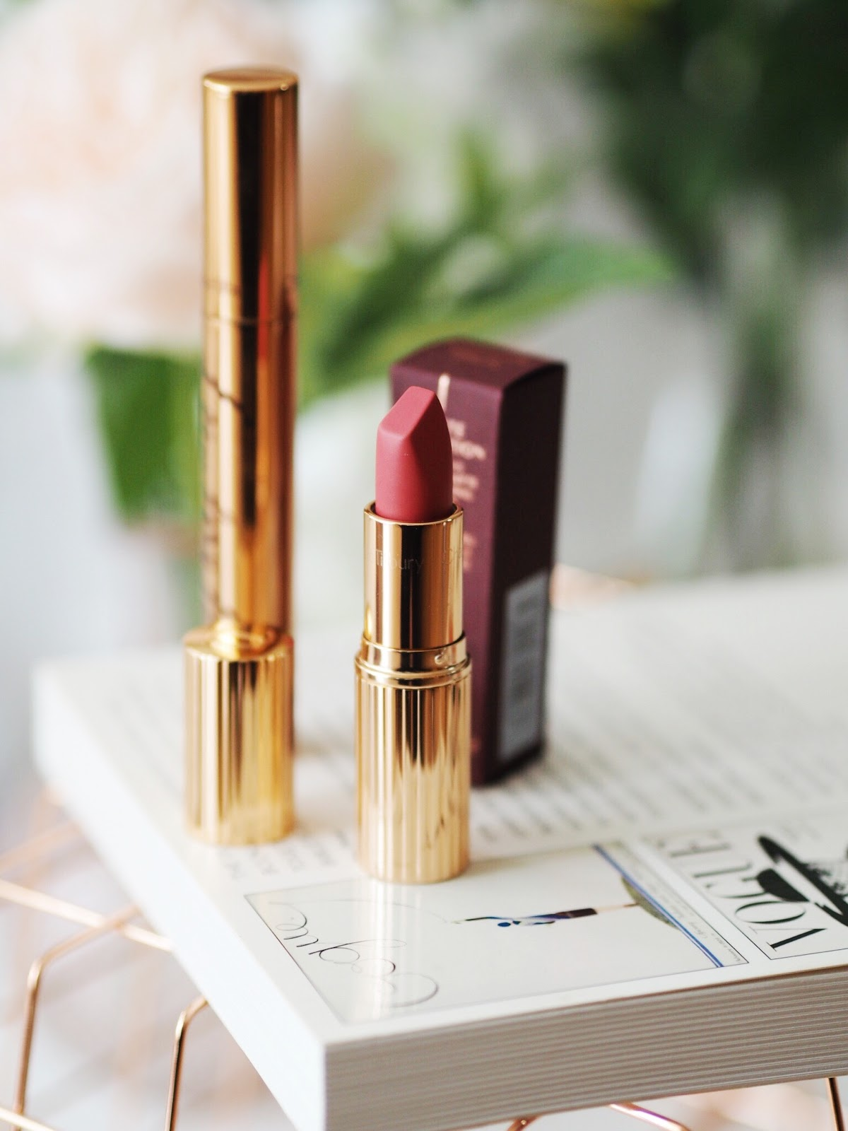 charlotte tilbury lipsticks amazing grace review makeup