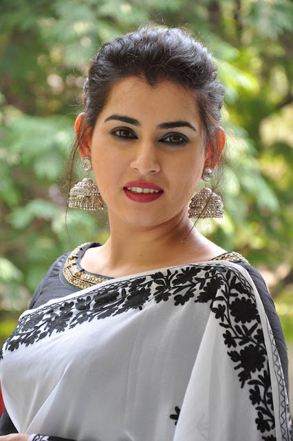 Archana Veda white saree