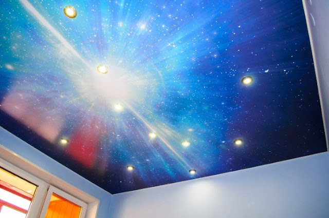 incredible stretch ceiling for bedroom design idea