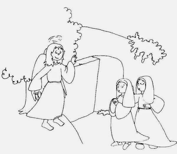 Gifs y Fondos Paz enla Tormenta ®: JESÚS RESUCITA PARA COLOREAR Y ...