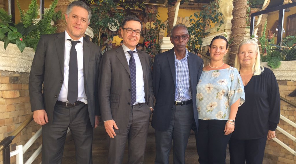 <EU starts formal diplomacy with Eritrea as top official visits