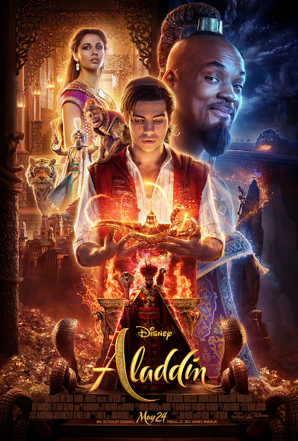 """Aladdin,"" directed by Guy Ritchie and starring Will Smith, Mena Massoud and Naomi Scott"