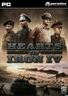 غلاف لعبة حرب وإستراتيجية Hearts of Iron 4